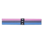 adidas Women's Shimmy Hairband 13 (Pink)
