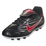 Nike Junior Premier II FG-R (Black/Sport Red/Metallic Silver)