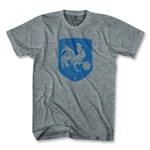 France Rooster Shield T-Shirt (Gray)