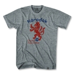 Czech Republic Narodak Lion T-Shirt (Gray)