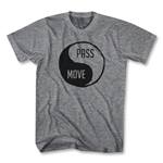 Pass & Move Soccer T-Shirt (Gray)