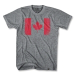 Canada Vintage Flag T-Shirt (Gray)