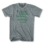 Football Without Fans T-Shirt (Gray)