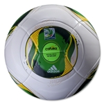 adidas FIFA Confederations Cup 2013 Top Replique Soccer Ball (White/Green)