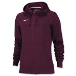 Nike Women's Full-Zip Poly Fleece Hoody (Cardinal)