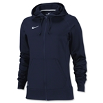 Nike Women's Full-Zip Poly Fleece Hoody (Navy)