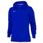 Nike Women's Full-Zip Poly Fleece Hoody (Royal)
