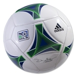adidas MLS 2013 Mini Soccer Ball (White/Collegiate Royal)