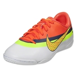 Nike Junior Mercurial Victory IV CR IC (White/Volt/Total Crimson)