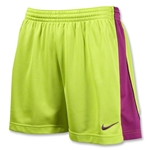 Nike Women's E4 Short (Neon Green)