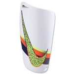 Nike CR7 Mercurial Lite Shinguard (White/Total Crimson/Volt)