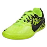 Nike5 Elastico II Junior Indoor Shoe (Volt/Black)