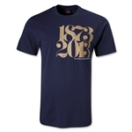 Scotland 140 Years of Rugby T-Shirt (Navy)