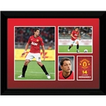 Manchester United 12/13 Chicharito Framed Poster