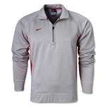Nike Core Fleece 1/4 Zip (Gray/Red)
