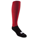 Canterbury CCC Performance DryMax Rugby Sock (Red)