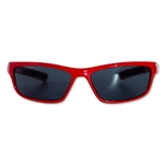 Manchester United Kids Wrap Sunglasses (Red)