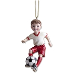Soccer Boy Ornament