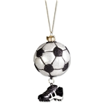 Soccer Ball w/ Cleat Ornament