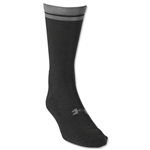 Under Armour Zagger HeatGear Crew Sock (Blk/Grey)