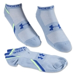 Under Armour Phantom Heatgear Low Cut Sock 3-Pack (Blue)