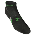 Under Armour Phantom Heatgear Low Cut Sock 3-Pack (Wh/Gr)