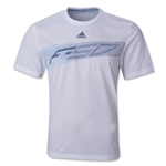 adidas F50 Poly T-Shirt 13 (Wh/Nv)