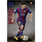 Barcelona 14/15 Messi Poster