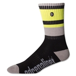 Adrenaline The Director Lacrosse Socks (Blk/Grey)