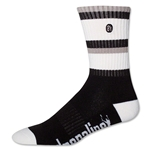 Adrenaline The Director Lacrosse Socks (Blk/Wht)