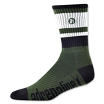 Adrenaline The Director Lacrosse Socks (Dg/Bl)