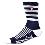 Adrenaline Super J-Train Lacrosse Socks (Navy)