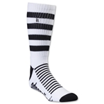 Adrenaline Super J-Train Lacrosse Socks (Wh/Bk)