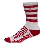 Adrenaline Super J-Train Lacrosse Socks (Wh/Sc)
