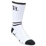 Adrenaline Data Lacrosse Socks (Wh/Bk)