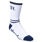 Adrenaline Data Lacrosse Socks (Wh/Nv)