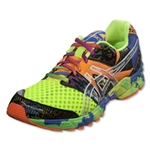 Asics GEL-Noosa Tri 8 Running Shoe (Flash Yellow/Flash Orange/Multi)