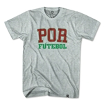 Portugal POR Soccer T-Shirt (Gray)