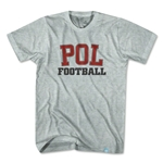 Ultras Poland POL Soccer T-Shirt (Gray)