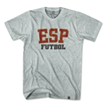Spain ESP Soccer T-Shirt (Gray)