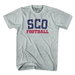 Scotland Cross Pocket T-Shirt (Gray)