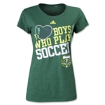 Portland Timbers I Heart Boys Who Play Soccer Women's T-Shirt