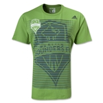 Seattle Sounders Stripes T-Shirt