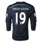 Chelsea 14/15 DIEGO COSTA Youth LS Third Soccer Jersey