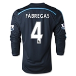 Chelsea 14/15 FABREGAS Youth LS Third Soccer Jersey