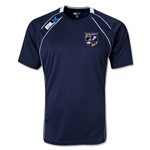 West Virginia University Rugby BLK Training Shirt (Navy/White)
