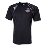 Rugby PA BLK Training Shirt (Black/White)