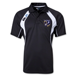 West Virginia University Rugby BLK Tek IV Polo (Black/White)