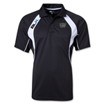 BLK World Rugby Shop TEK IV Polo (Black)