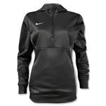 Nike Women's Sideline Fleece 1/4 Zip (Blk/Wht)